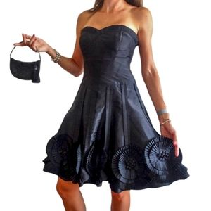 Cache Luxe Strapless Tulle Puffy  Princess Dress